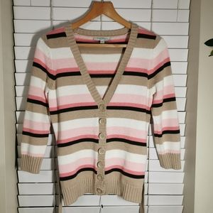 Ann Taylor button down sweater cardigan